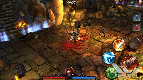 Игра Eternity Warriors 3 на Samsung Galaxy J7