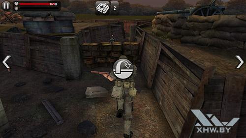 Игра Frontline Commando: Normandy на Samsung Galaxy J7