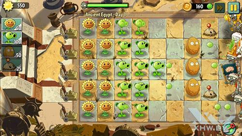 Игра Plants vs Zombies 2 на Samsung Galaxy J7