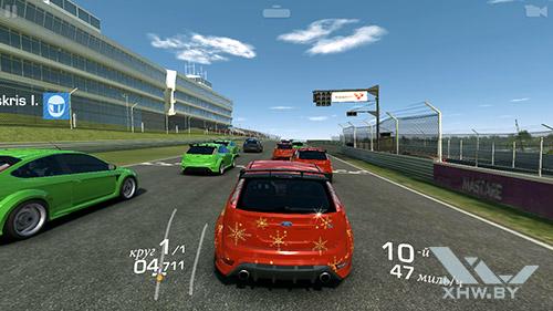 Игра Real Racing 3 на Samsung Galaxy J7