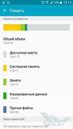 Память Samsung Galaxy J7