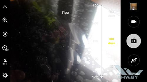 Параметры ISO камеры Samsung Galaxy J7