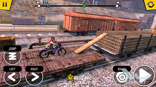 Игра Trial Xtreme 4 на Samsung Galaxy J7