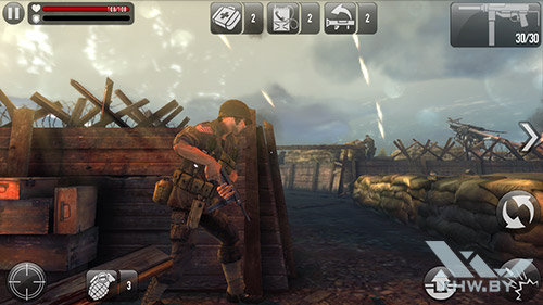 Игра Frontline Commando: Normandy на Lenovo A5000