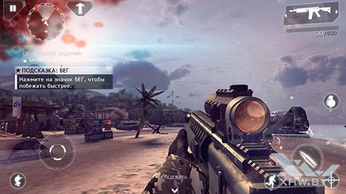 Игра Modern Combat 4: Zero Hour на Lenovo A5000