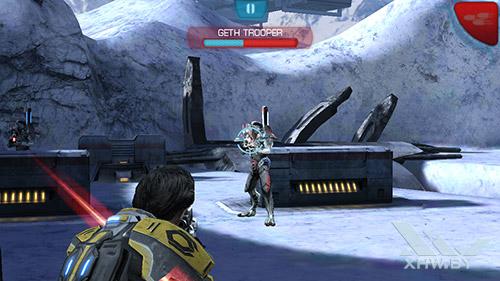 Игра Mass Effect: Infiltrator на Lenovo A5000