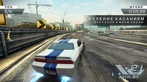 Игра Need For Speed: Most Wanted на Lenovo A5000
