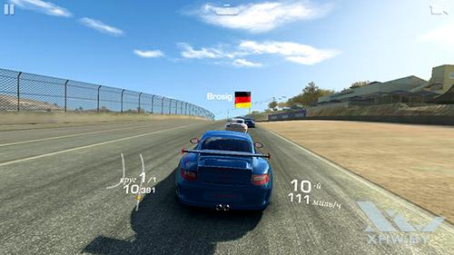Игра Real Racing 3 на Lenovo A5000