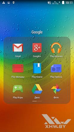 Приложения Google на Lenovo A5000