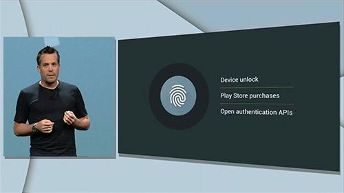 Поддержка сканер отпечатков в Android 6.0. Рис. 1