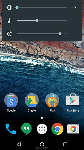 Регулировка громкости в Android 6.0