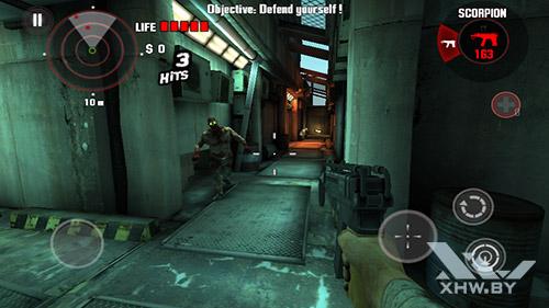 Игра Dead Trigger на Senseit E400