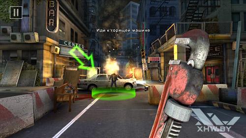 Игра Dead Trigger 2 на Senseit E400