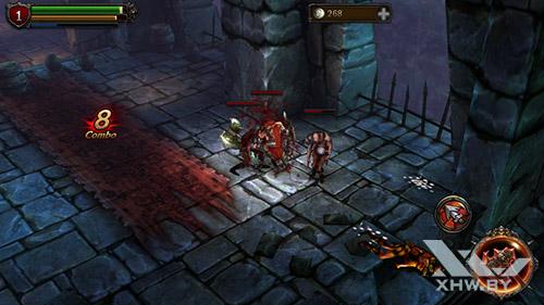 Игра Eternity Warriors 2 на Senseit E400