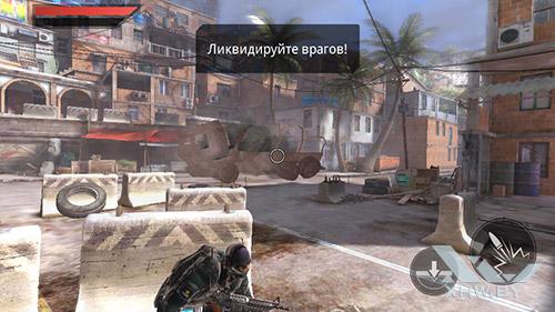 Игра Frontline Commando 2 на Senseit E400