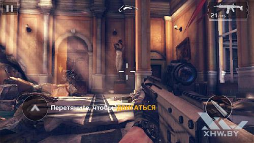 Игра Modern Combat 5 на Senseit E400