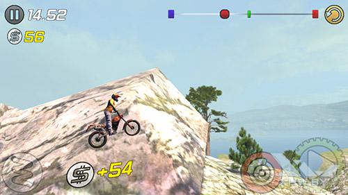 Игра Trial Xtreme 3 на Senseit E400
