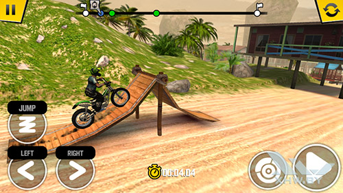 Игра Trial Xtreme 4 на Senseit E400