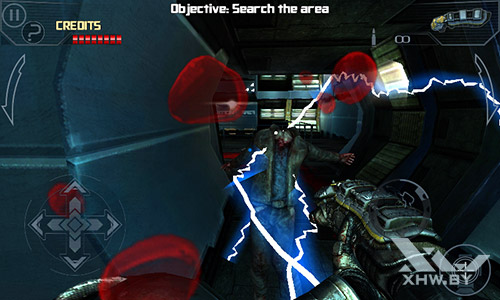 Игра Dead Effect на Senseit R390+