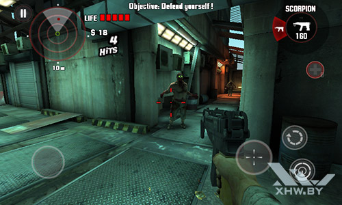 Игра Dead Trigger на Senseit R390+