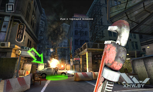 Игра Dead Trigger 2 на Senseit R390+