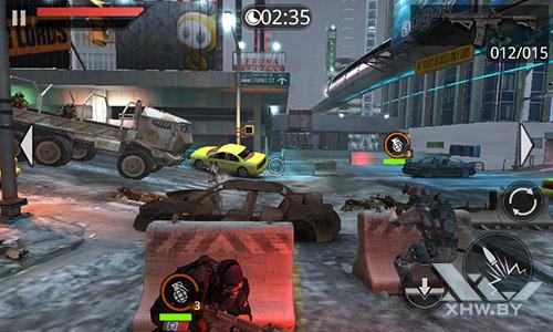 Игра Frontline Commando 2 на Senseit R390+