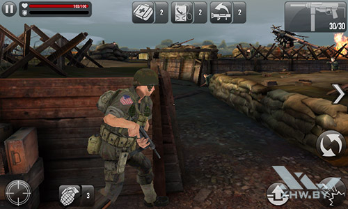 Игра Frontline Commando: Normandy на Senseit R390+