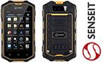 Защищенный смартфон с хорошим аккумулятором - Senseit R390+