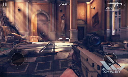 Игра Modern Combat 5 на Senseit R390+