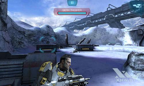 Игра Mass Effect: Infiltrator на Senseit R390+