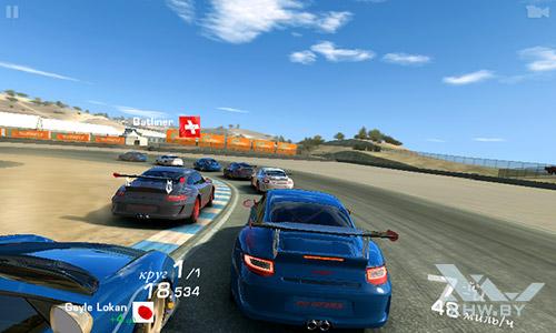Игра Real Racing 3 на Senseit R390+