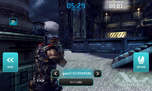 Игра Shadowgun: Dead Zone на Senseit R390+