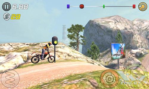 Игра Trial Xtreme 3 на Senseit R390+