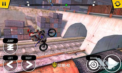 Игра Trial Xtreme 4 на Senseit R390+