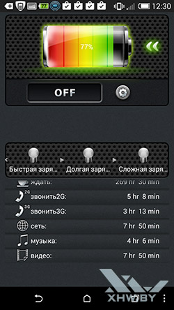 One Touch Battery Saver. Рис. 2