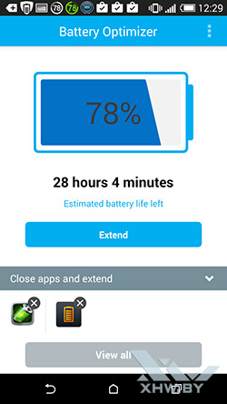 Battery Optimizer. Рис. 1
