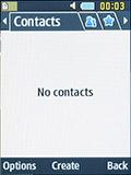 Контакты Samsung SM-B350E