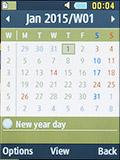 Календарь на Samsung SM-B350E. Рис. 2