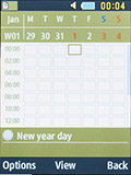 Календарь на Samsung SM-B350E. Рис. 4