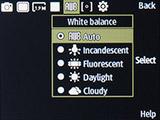 Баланс белого камеры Samsung SM-B350E