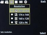 Разрешение съемки видео на Samsung SM-B350E