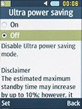 Режим энергосбережения Samsung SM-B350E