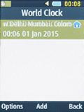 Мировое время на Samsung SM-B350E
