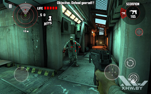 Игра Dead Trigger на Lenovo Tab 2 A10-70L