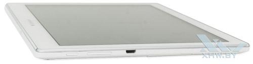 Левый торец Lenovo Tab 2 A10-70L