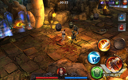 Игра Eternity Warriors 3 на Lenovo Tab 2 A10-70L