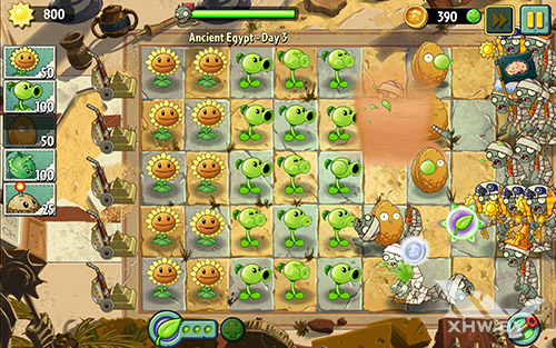 Игра Plants vs Zombies 2 на Lenovo Tab 2 A10-70L
