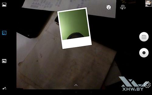Режим камеры картинка в картинке Lenovo Tab 2 A10-70L