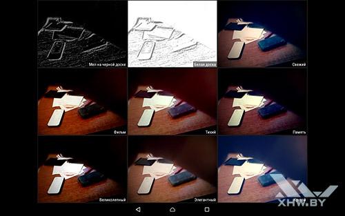 Режимы камеры Lenovo Tab 2 A10-70L
