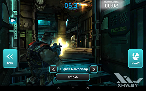Игра Shadowgun: Dead Zone на Lenovo Tab 2 A10-70L